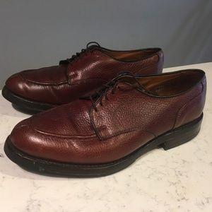 "Allen Edmonds ""Canton"" Burgundy Oxford Shoes (8.5)"